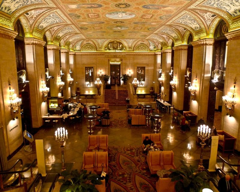 Palmer House Chicago Travel Squire