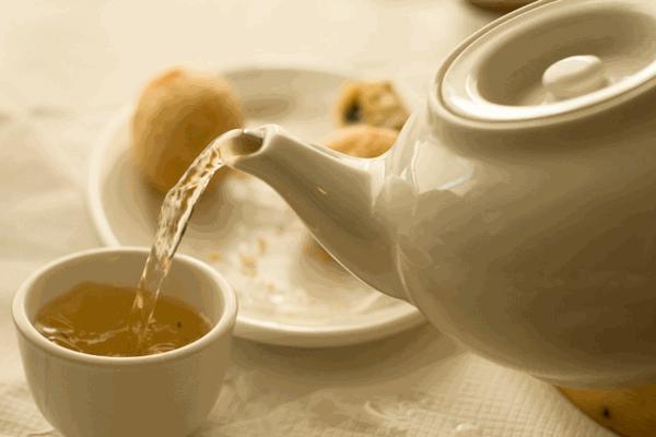 Drinking Tea During Dim Sum