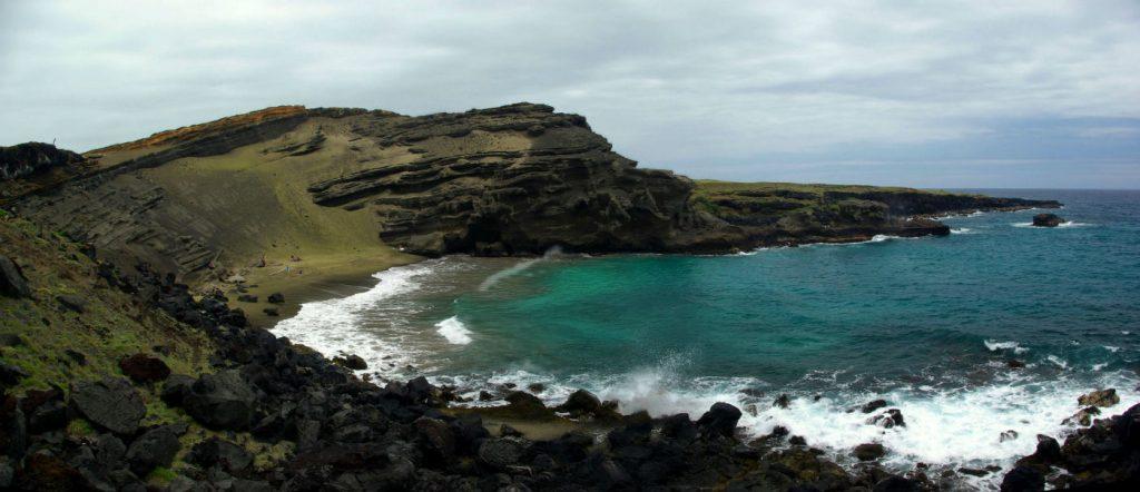 hawaii, south point, green sand beach, big island, southern most point of the USA, hawaiian food, driving hawaii, best beaches in hawaii,
