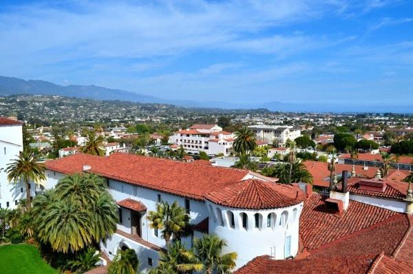 View from the Santa Barbara Clock Tower
