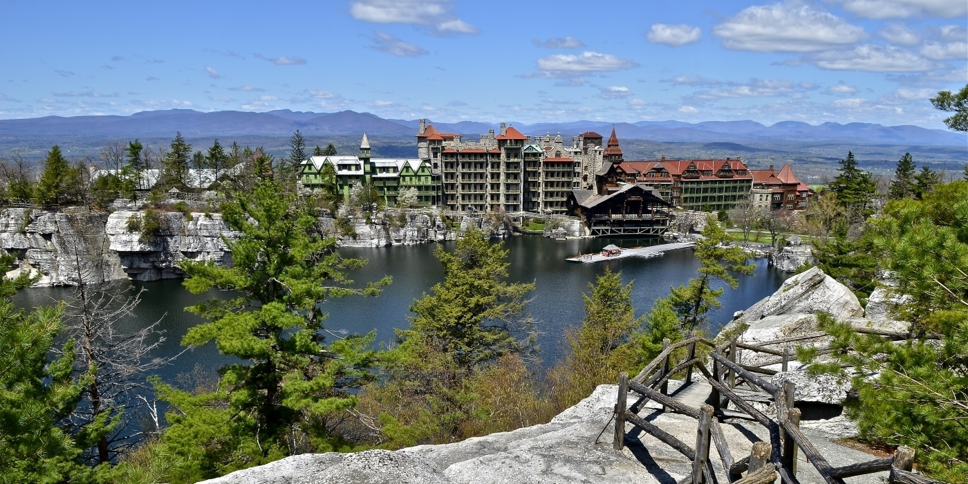 Best Spa In Ny State Mohonk Mountain House